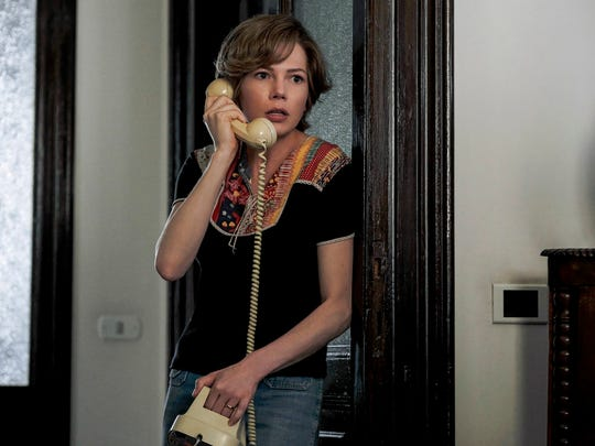 """Michelle Williams stars in """"All the Money in the World."""" The movie opens Dec. 25 at Regal West Manchester Stadium 13, Frank Theatres Queensgate Stadium 13 and R/C Hanover Movies."""
