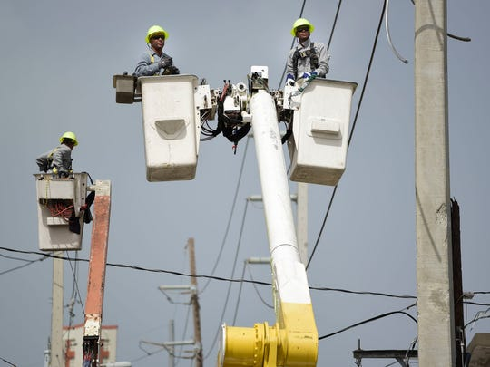 Union leaders representing Puerto Rico power company workers criticized local and federal officials earlier this month, as the U.S. territory missed a deadline to restore 95 percent of power as promised by the island's governor.