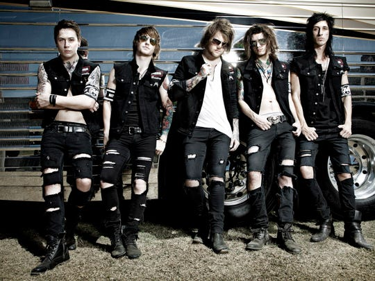 Asking Alexandria co-headlines the Rave with Black Veil Brides Friday.