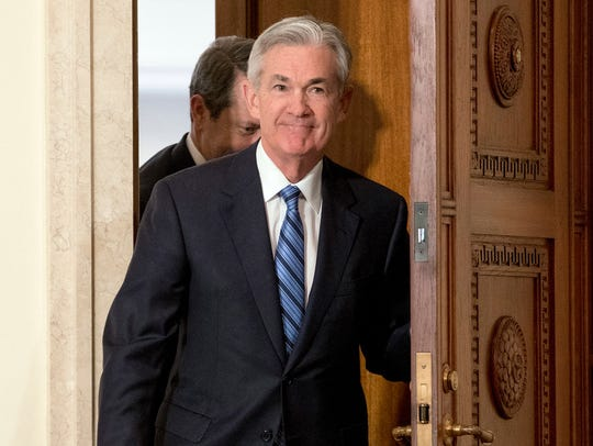 Jerome Powell, the new Federal Reserve Board.