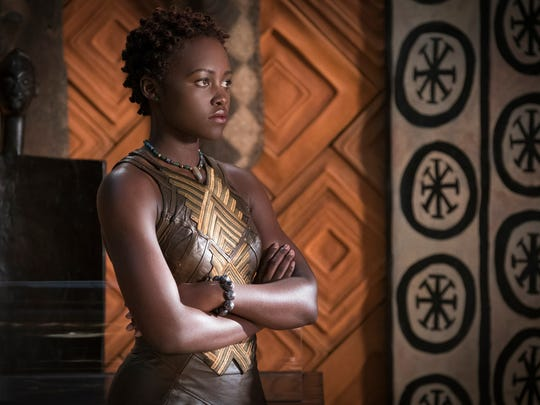 As Nakia, Lupita Nyong'o is a warrior woman for little girls to emulate (with a bit of training in judo, jujitsu and Filipino martial arts).