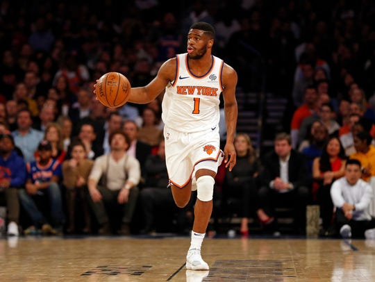 The Knicks acquired Emmanuel Mudiay at the trade deadline.
