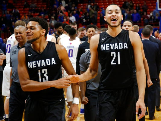Hallice Cooke, Kendall Stephens, Nevada Wolf Pack