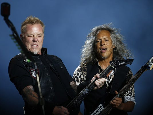 Metallica the laureate of Polar Music Prize 2018