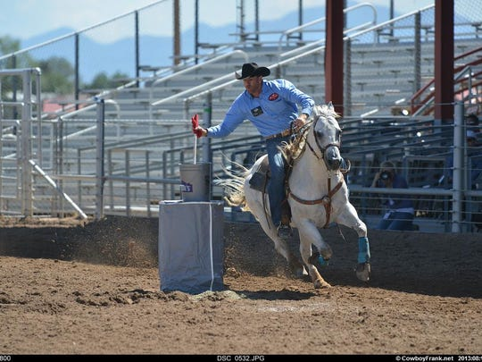 LGBTQ cowboys and cowgirls participate in a variety of events to display their rodeo skills.