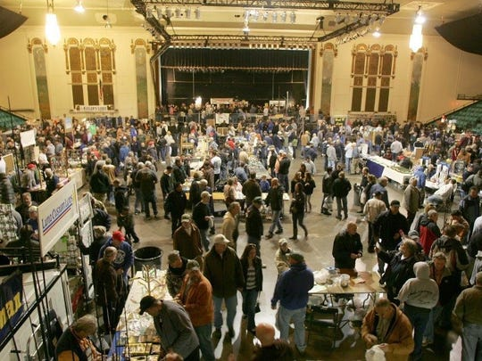 The Asbury Park Fishing Club's Fishing Flea Market returns to Convention Hall on the Asbury Park boardwalk March 11.
