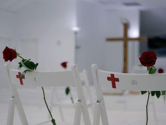 AP CHURCH SHOOTING TEXAS A USA TX