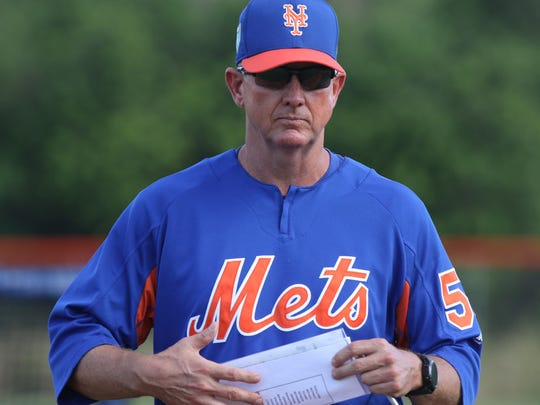 Mets pitching coach Dave Eiland