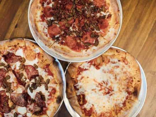 Mike's Pizza is one of a the new restaurants at Little Caesars Arena