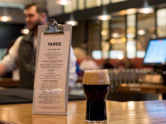 Bar at the new Yards