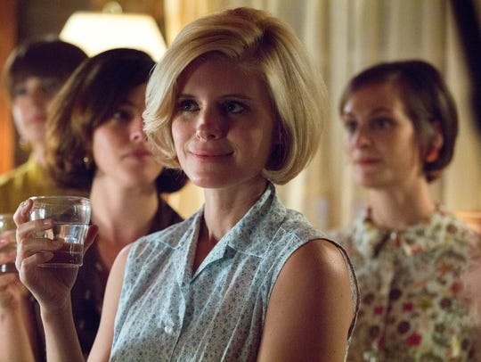 "Kate Mara as Mary Jo Kopechne in a scene from ""Chappaquiddick."""
