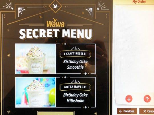 Wawa's secret menu consists of two items.