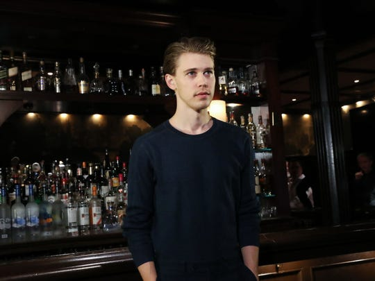 "Austin Butler attends ""The Iceman Cometh"" Broadway Meet The Press at Delmonico's on April 11, 2018 in New York City."