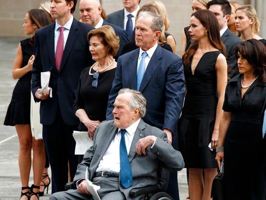 George W. Bush, George H.W. Bush