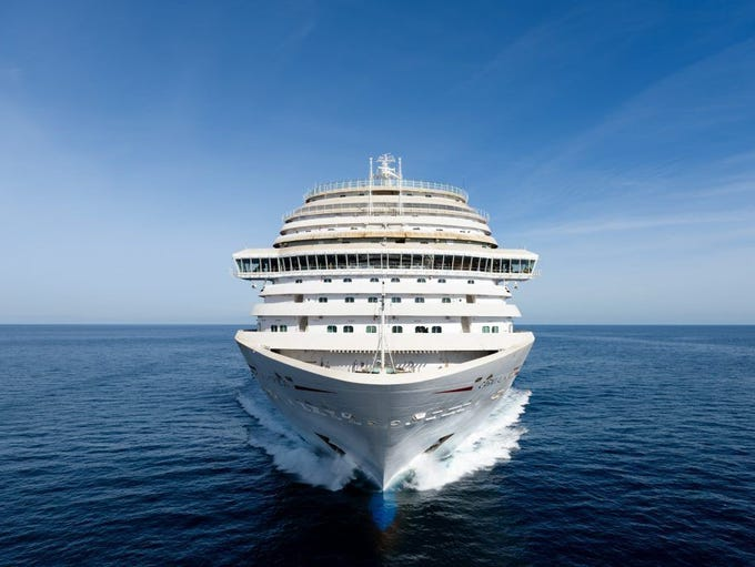 The brand-new Carnival Horizon made its debut in the