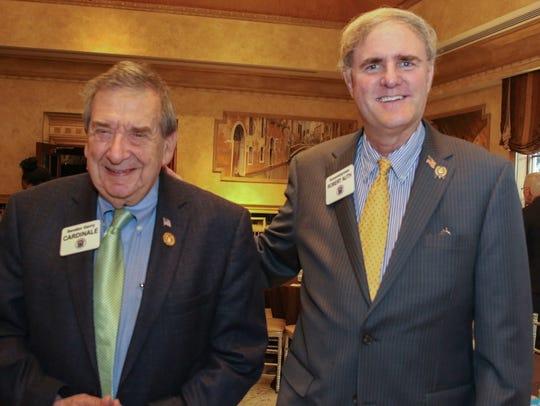 NJ Sen. Gerald Cardinale and Assemblyman Robert Auth.