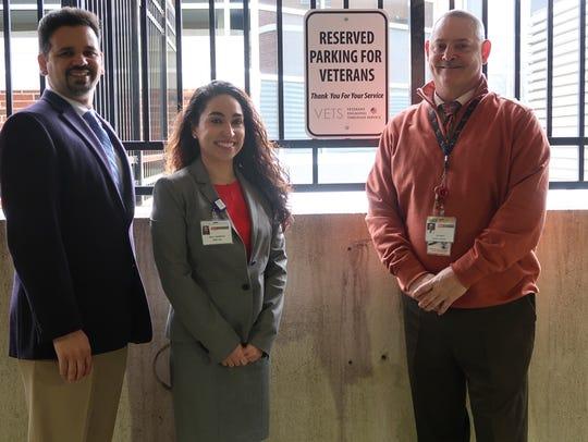 Left to right: Leo Figueroa, nursing director, Cardiac
