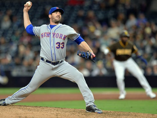 Apr 27, 2018; San Diego, CA, USA; New York Mets starting