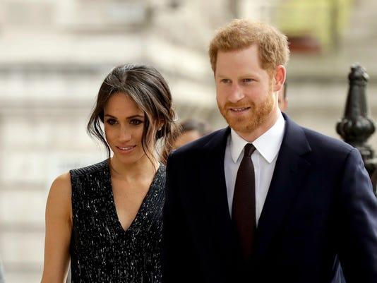 Prince Harry and his fianceeMeghanMarkle