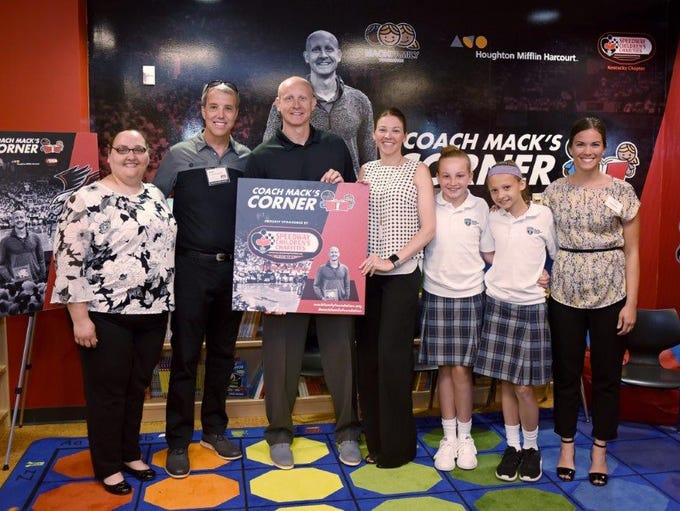 The Mack Family Foundation introduced a new Coach Mack's
