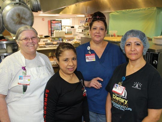 The Lincoln County Medical Center food service staff
