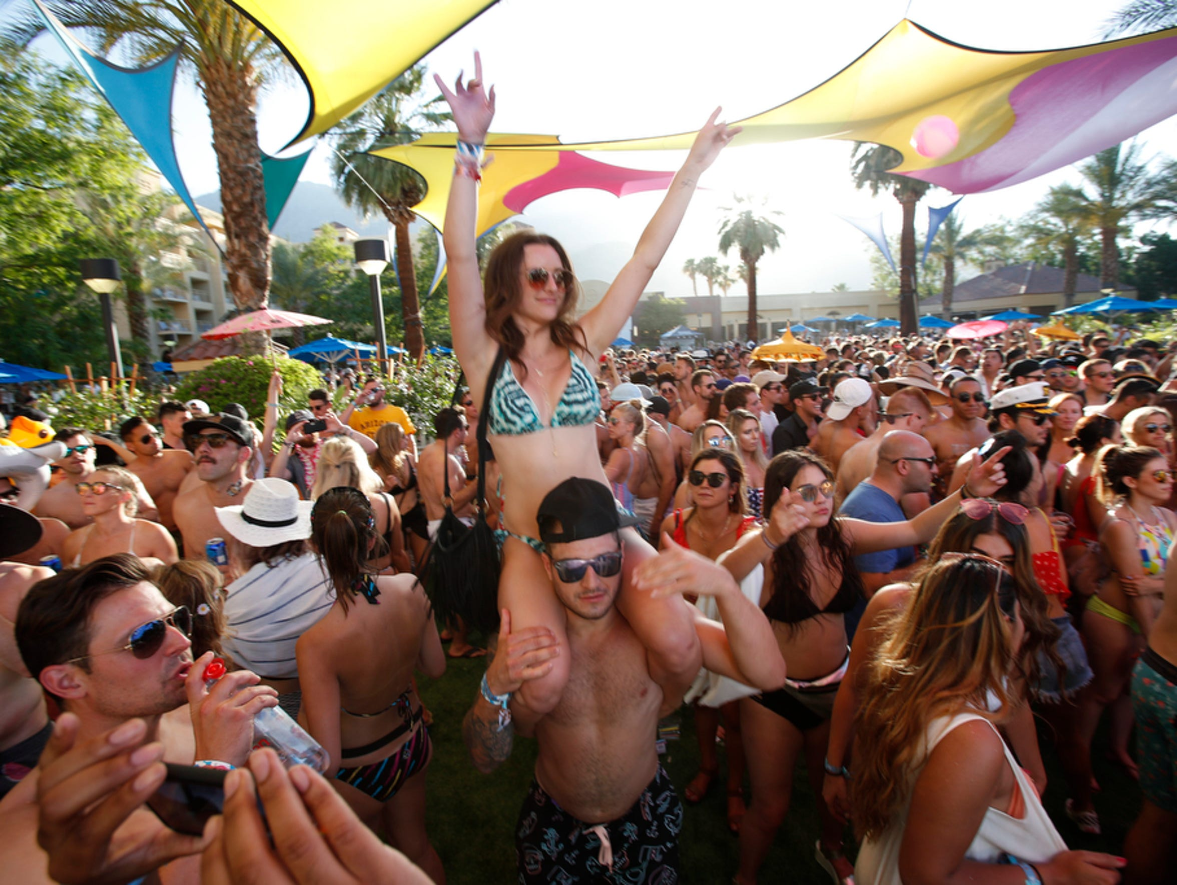 Splash House has been a game-changer for Palm Springs hotel business in June and August. The electronic music event put on by Goldenvoice brings musical entertainment poolside during the day at a variety of resorts in Palm Springs, and at night on the tarmac at the Palm Springs Air Museum.