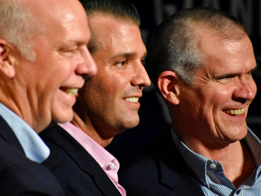 Greg Gianforte, Donald Trump Jr., Matt Rosendale