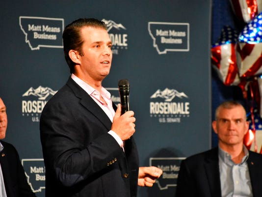 Donald Trump Jr., Greg Gianforte, Matt Rosendale