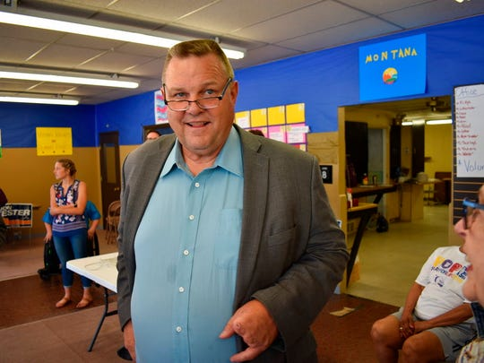 In this Friday, June 8, 2018 photo, U.S. Sen. Jon Tester