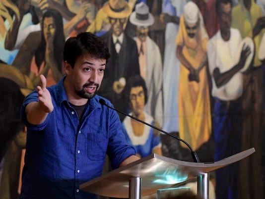 AP PUERTO RICO LIN-MANUEL MIRANDA I ENT PRI