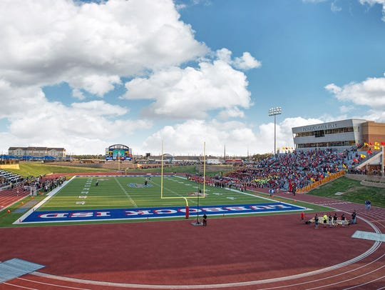 Lowrey Field in Lubbock, Texas, is the home for four