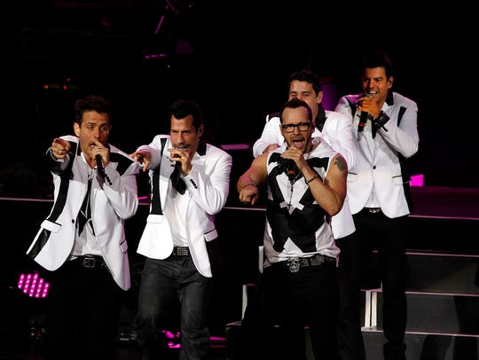 "New Kids on the Block bring the ""Mixtape Tour"" to Fiserv"