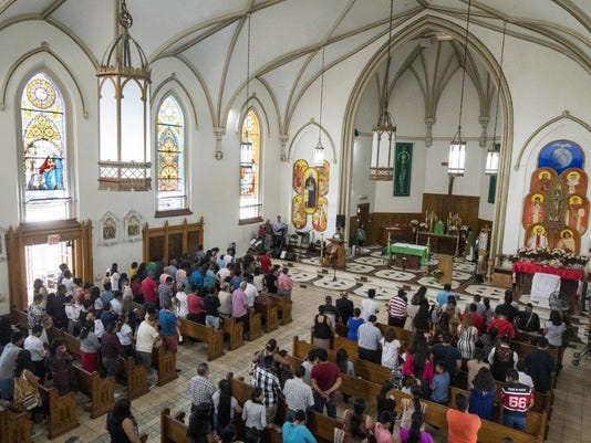 Old buildings cloud future for growing Latino Catholic church in Cincy