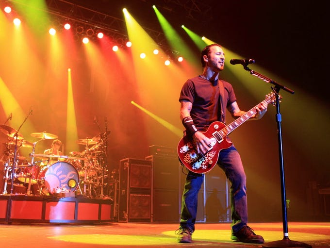 Alternative metal band Godsmack will play Fiserv Forum