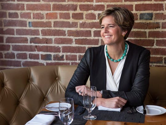 Sarah Robbins, chief operating officer of 21C Museum Hotel, based in Louisville, Kentucky.