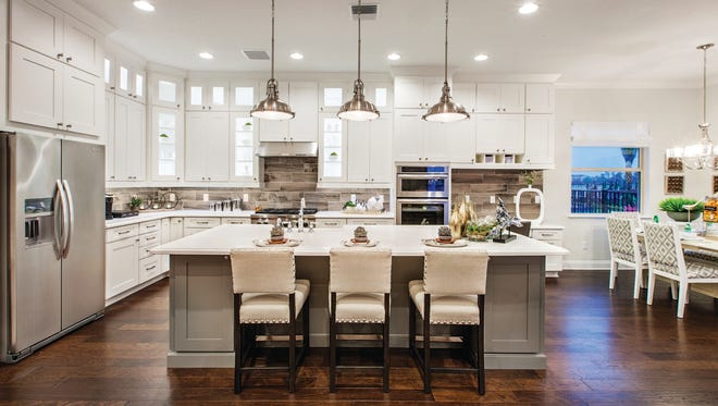 Palazzo at Naples is offering a 3,133-square-foot Massiano Versailles quick build home for buyers who wish to move in quickly.