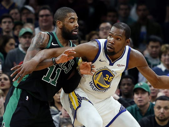 Kevin Durant and Kyrie Irving are headed to the Brooklyn Nets.