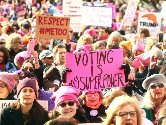 Thousands converged on Morristown Town Hall for the