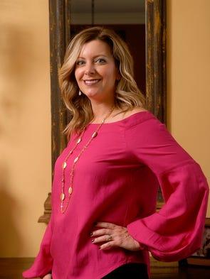 Stylemaker Jennifer Morgan poses in her Fischerville
