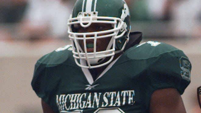 Former Michigan State offensive lineman Flozell Adams