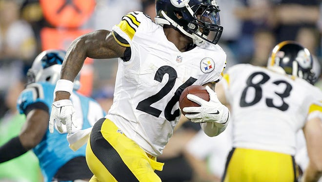 Steelers running back Le'Veon Bell