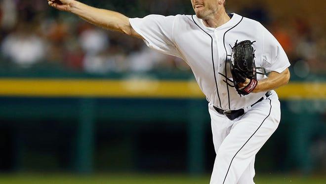 Tigers pitcher Max Scherzer