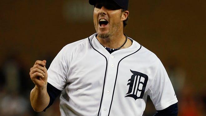Tigers closer Joe Nathan