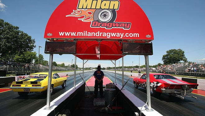 Milan Dragway in 2008.
