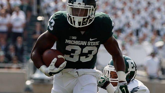 Michigan State running back Jeremy Langford