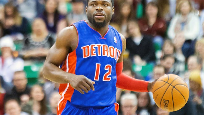 Pistons guard Will Bynum