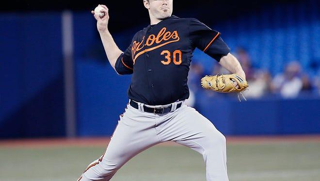 Orioles pitcher Chris Tillman