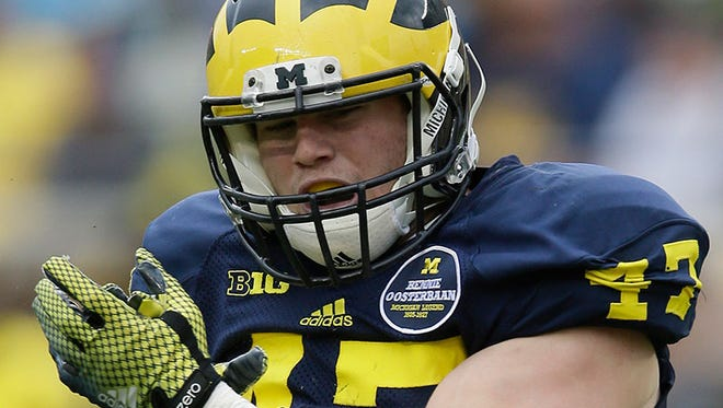 Michigan linebacker Jake Ryan