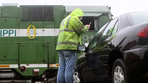 A collision between a car and a train occurred at about 9:30 a.m. Friday morning at Old Sterlington Road and U.S. 165. The unidentified driver in the vehicle was taken to an area hospital with moderate injuries. The incident is still under investigation.