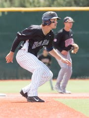 Outfielder Cole Krzmarzick, who hit .368 last season, is Nevada's top returning hitter.
